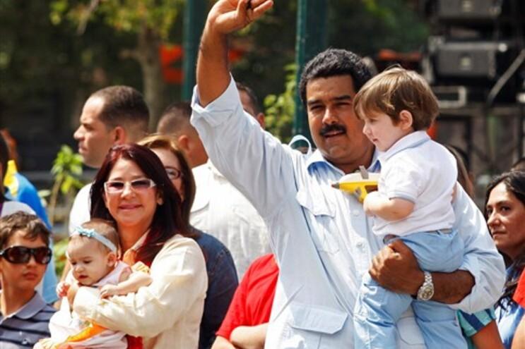 Maduro é o favorito nas eleições venezuelanas