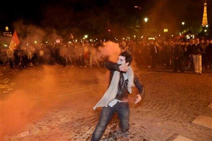 Confrontos com a polícia em Paris
