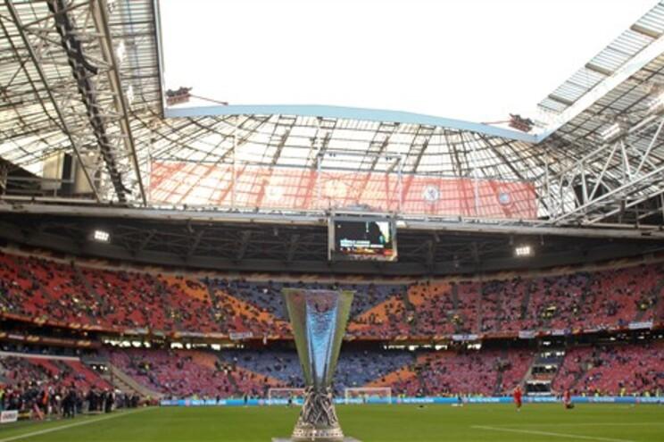 Final da Liga Europa disputou-se em Amesterdão