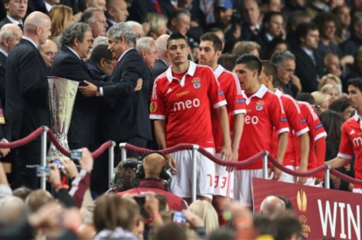 Vieira agradeceu apoio dos adeptos à equipa