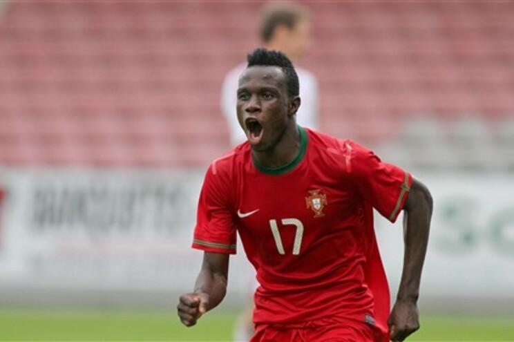 Bruma foi o assinou o golo que deu a qualificação para o Europeu de sub-19