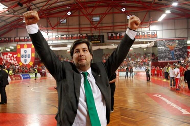 Bruno Carvalho, presidente do Sporting