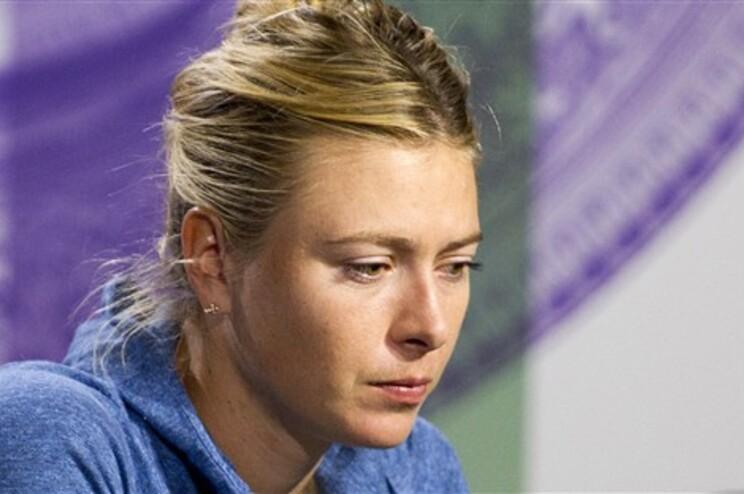 Sharapova frustrada por perder com Michelle Brito