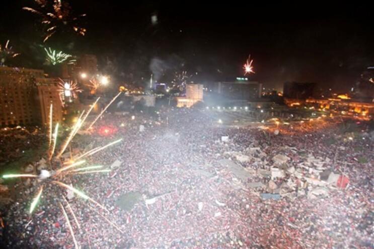 Festejos no Cairo