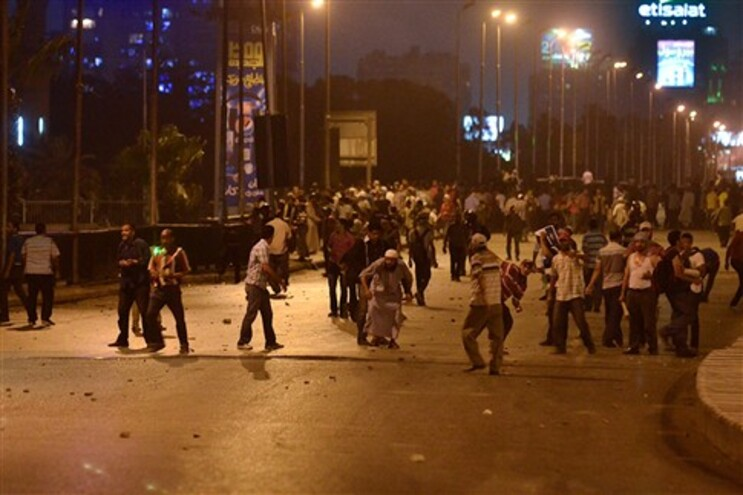 Violência no Egito já fez 14 mortos