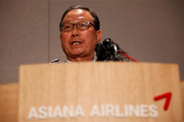 Yoon Young-doo, presidente da Asiana, descartou hipótese de falha técnica do aparelho