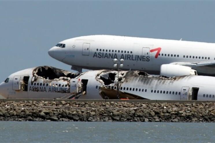 Piloto do avião da Asiana não conseguia ver a pista antes do acidente