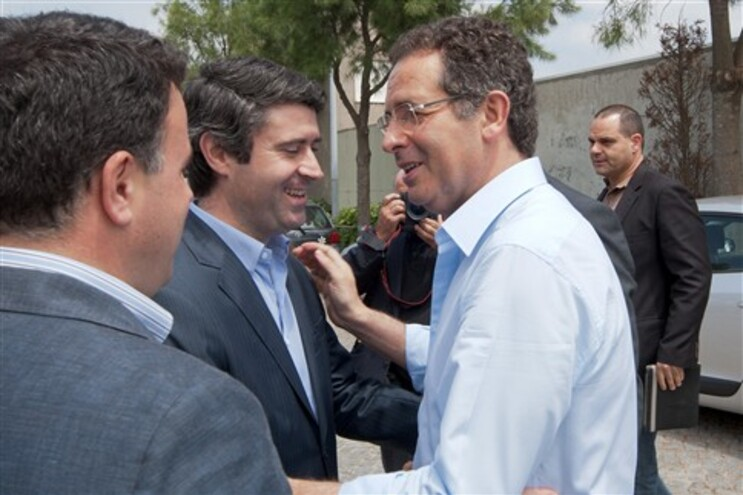 José Luís Carneiro com António José Seguro