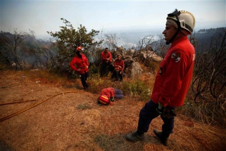 Vaga de incêndios está a mobilizar 5500 operacionais por dia