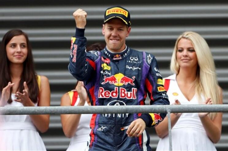 Vettel vence Grande Prémio da Bélgica de F1