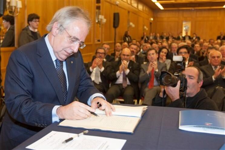 O presidente do Comité Olímpico de Portugal, José Manuel Constantino