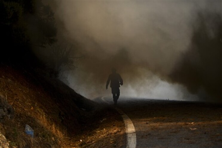PJ deteve suspeito de atear fogo do Caramulo em que morreram dois bombeiros