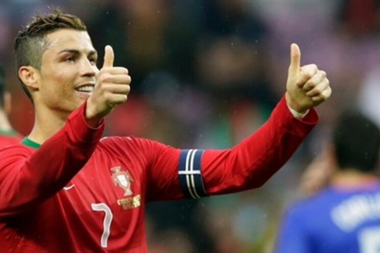 """Ronaldo pode destronar """"rei"""" Eusébio e tornar-se o segundo goleador de Portugal"""