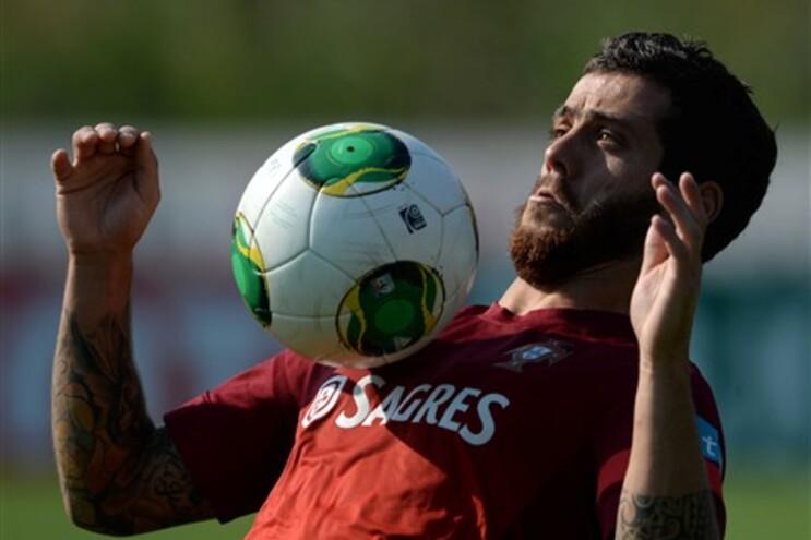 Vieirinha diz que há qualidade para substituir Ronaldo