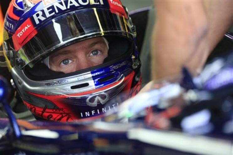 """Vettel conquistou """"pole position"""""""
