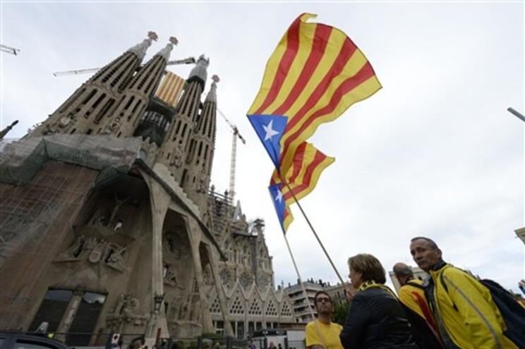 Milhares esperados no cordão humano pró-independência