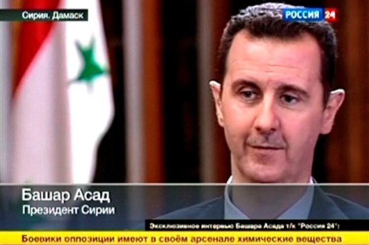 Líder sírio suscitou o aparecimento de dúvidas sobre o seu grau de compromisso com um plano