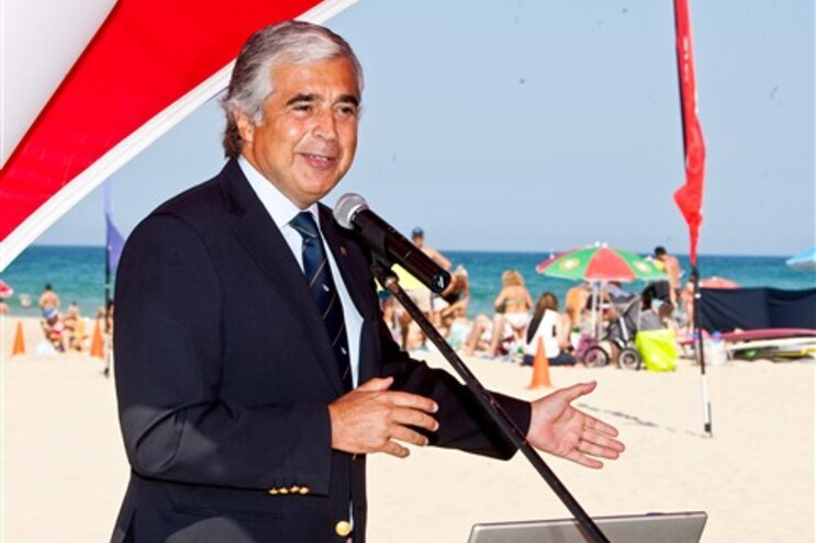 O ministro da Defesa, José Pedro Aguiar-Branco