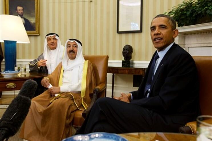 Obama reuniu com representantes do Kuweit