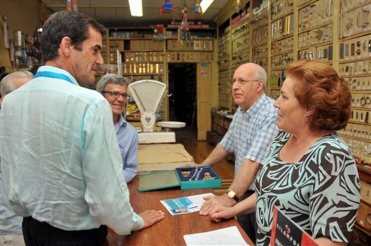 Rui Moreira em campanha no Porto