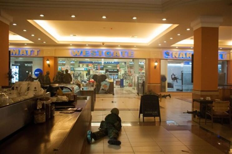 Forças de segurança libertaram maior parte dos reféns em centro comercial