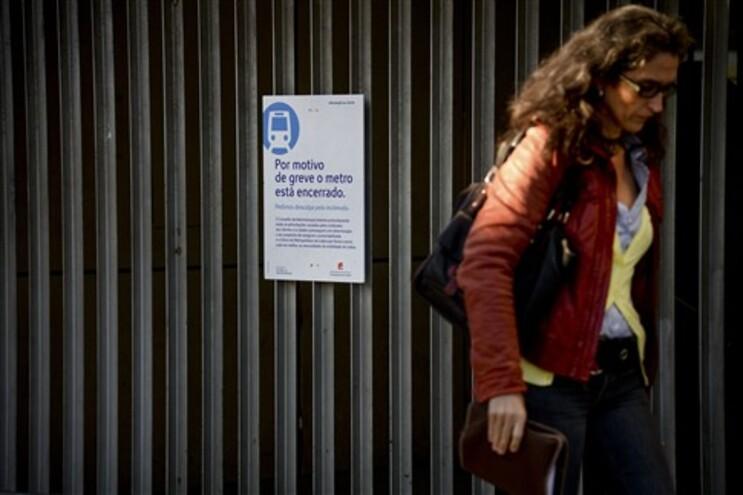 Estações do Metro encerradas, adesão dos trabalhadores ronda os 100%