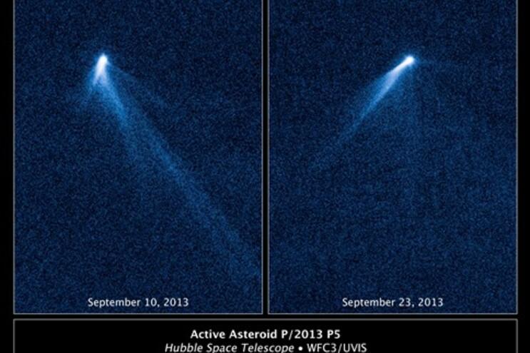 Asteróide com seis caudas surpreende astrónomos