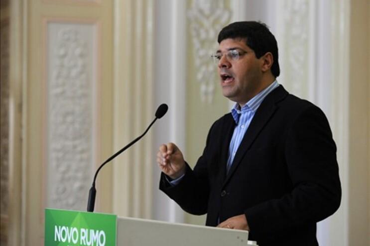 O dirigente socialista Eurico Brilhantes Dias