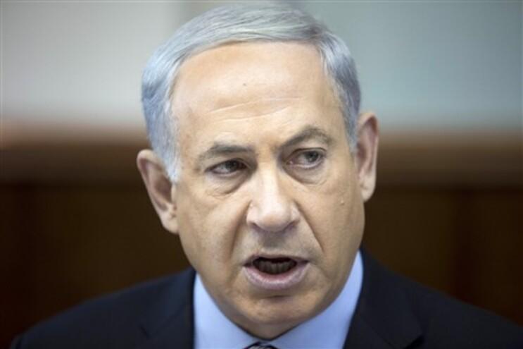 O primeiro-ministro, Benjamin Netanyahu