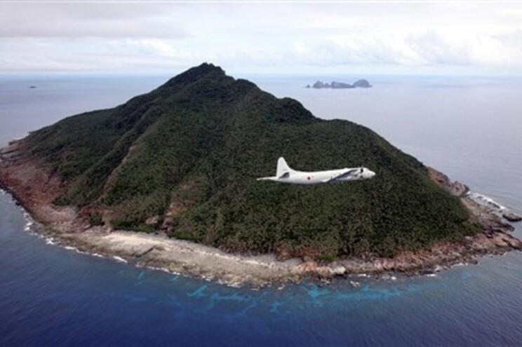Aviões sobrevoaram ilhas Senkaku, um arquipélago administrado pelo Japão, mas reivindicado pela China
