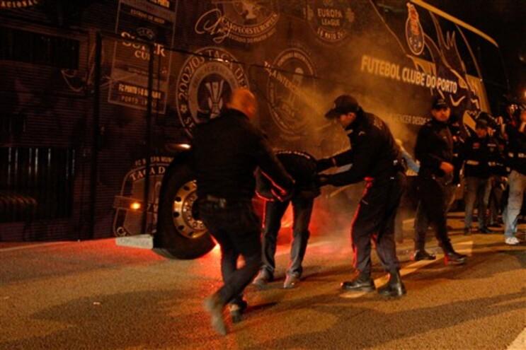 Incidentes na noite de sábado no Estádio do Dragão
