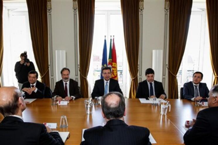 A delegação do PS na reunião com a troika foi liderada pelo secretário-geral, António José Seguro