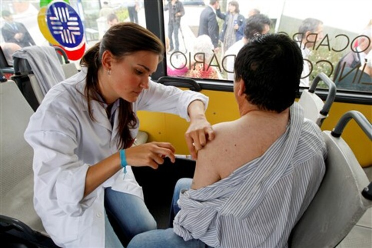 Vacina contra a gripe é menos eficaz nos homens