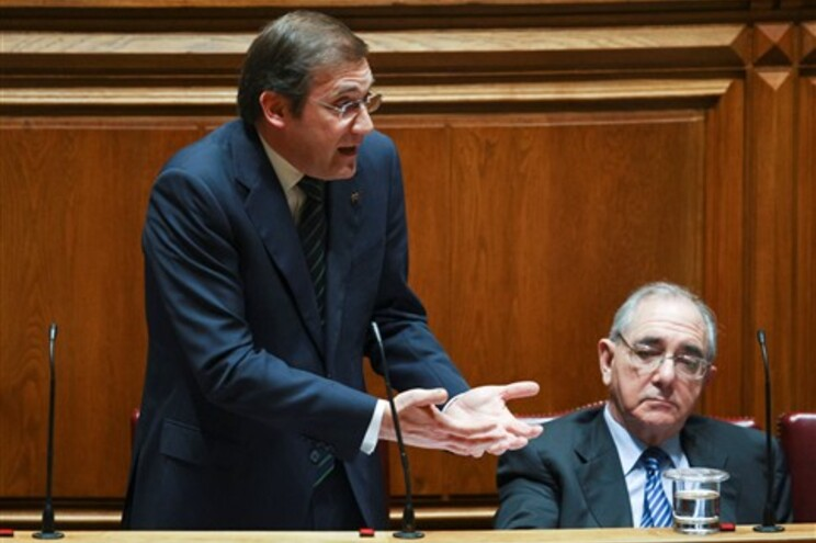 Passos Coelho referia-se ao pedido de fiscalização sucessiva do PS ao Tribunal Constitucional