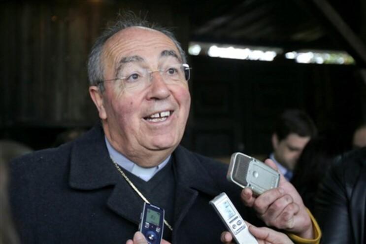 O presidente da Comissão Episcopal da Pastoral Social e Mobilidade Humana, Jorge Ortiga