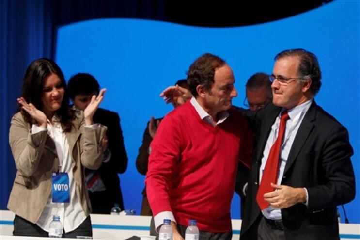 Paulo Portas no final do 25.º Congresso