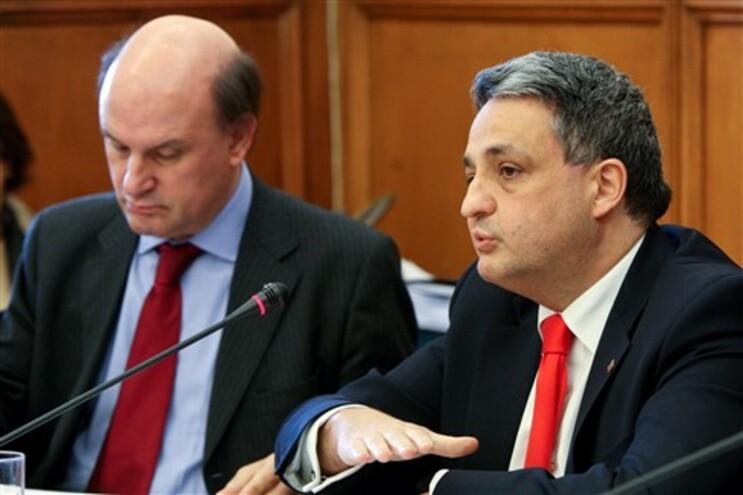 Paulo Macedo na audiência solicitada pelo PCP
