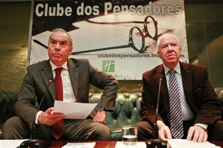 Teixeira dos Santos foi o convidado do Clube dos Pensadores, em Vila Nova de Gaia