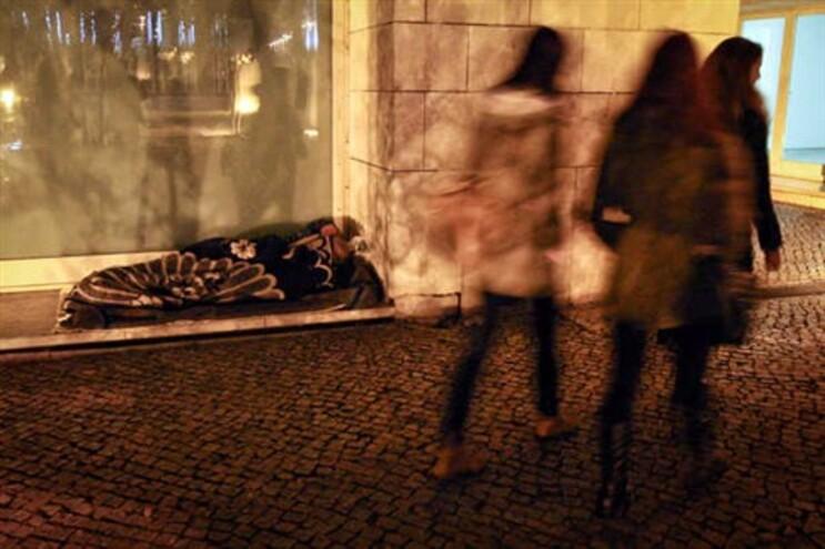 Contagem dos sem-abrigo foi feita a 13 de dezembro