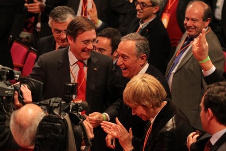 Marcelo Rebelo de Sousa surpreendeu ao aparecer no congresso do PSD