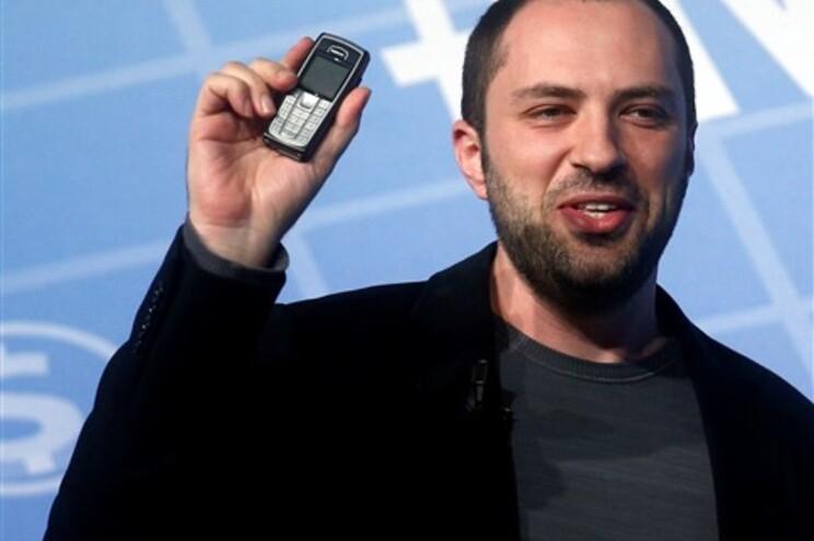 Jan Koum, cofundador da empresa qu criou o WhatsApp