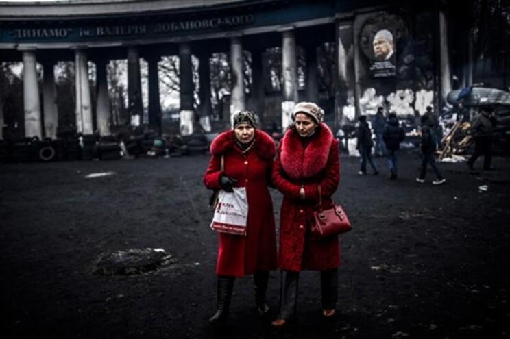 Em Kiev, a cidade começa a renascer das cinzas