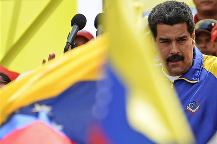 O presidente venezuelano, Nicolas Maduro