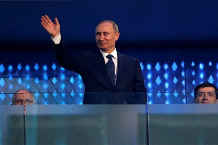 Putin na abertura dos Jogos Paralímpicos em Sochi