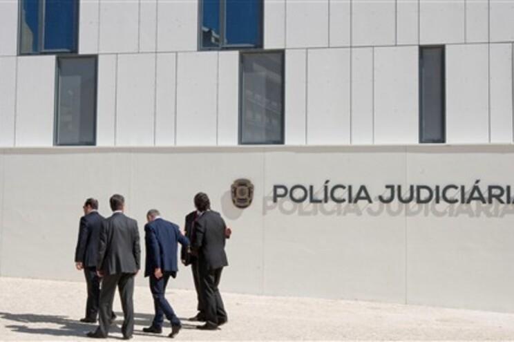 No edifício-sede da PJ em Lisboa