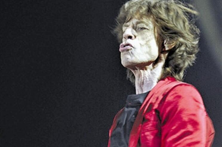 Mick Jagger, em 2012, no Porto