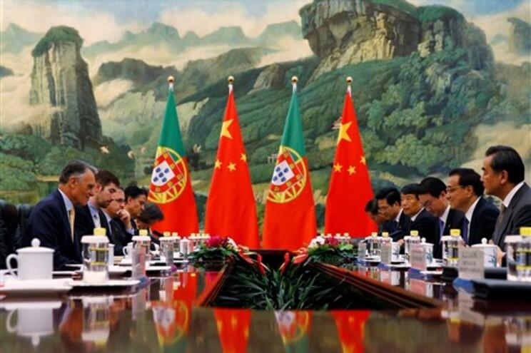 Cavaco Silva está a realizar uma visita oficial à China