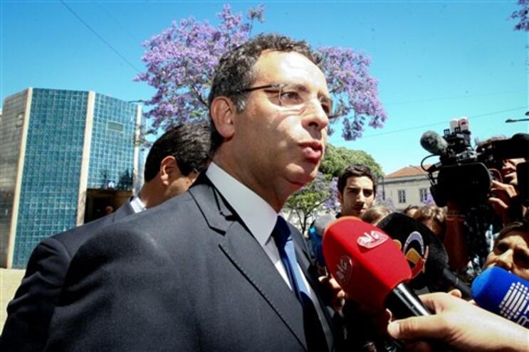 António José Seguro à chegada à reunião em Torres Vedras