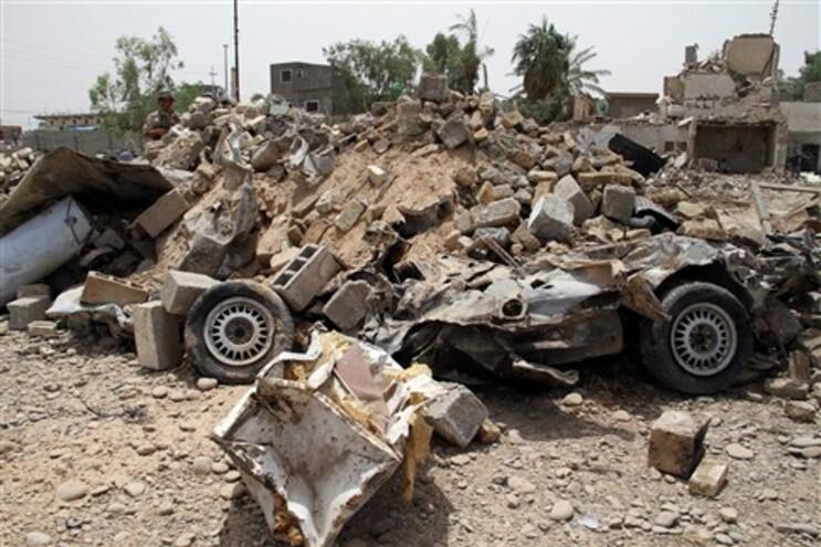 Camião armadilhado matou 28 pessoas