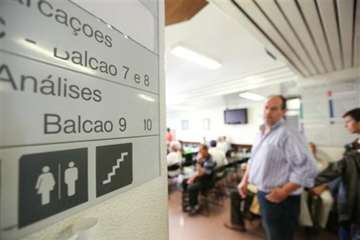 Unidade de consultas externas do Hospital de São José, em Lisboa, esta terça-feira